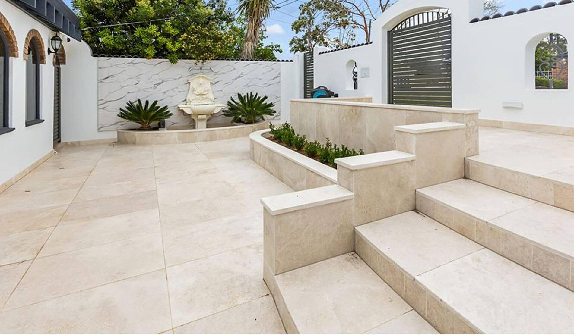 natural stone tiles project